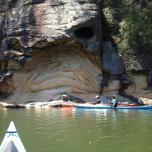 kayaking hawkesbury sandstone