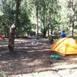 kayak campsite