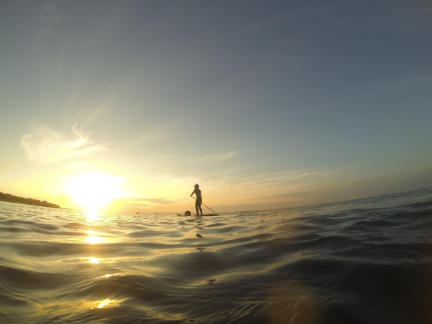 sunset sup kangaroo island